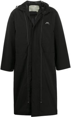 A-Cold-Wall* Logo Printed Long Raincoat