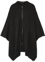 The Row Asham Oversized Cashmere Poncho - Black
