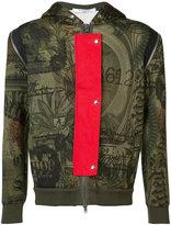Givenchy dollar print hoodie - men - Viscose/Spandex/Elastane - M