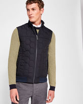 Ted Baker Funnel neck quilted gilet