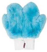 Glamour Puss Glamourpuss Leather-Trimmed Fur Mittens