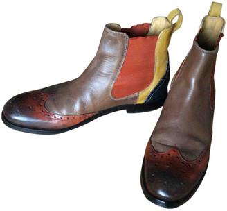 Melvin & Hamilton Melvin&hamilton Multicolour Leather Ankle boots