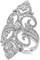 Effy Pavé Classica by Diamond Filigree Ring (1-1/4 ct. t.w.) in 14k White Gold