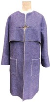 Chanel Purple Cotton Coat for Women