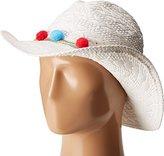 Betsey Johnson Women's Fiesta Panama Hat