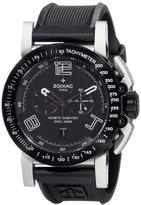 Zodiac ZMX Men's ZO8552 Racer Analog Display Swiss Quartz Black Watch