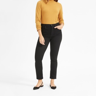 Everlane The Authentic Stretch High-Rise Cigarette Jean