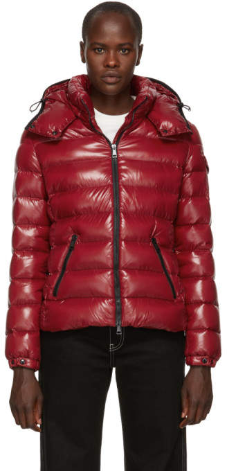 Moncler Red Down Bady Jacket