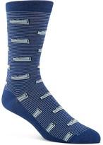 Cole Haan Loafer Stripe Crew Socks