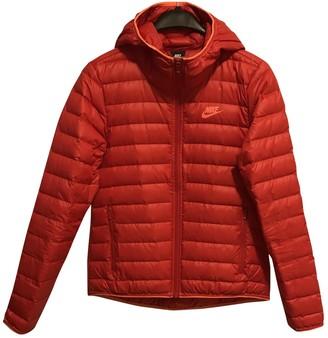 Nike Red Coat for Women