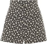 Anna Sui Stripe Denim Twill Skirt