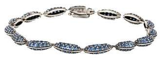 Alexis Bittar Sapphire Marquis Link Bracelet