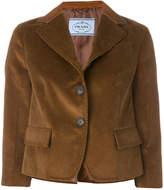 Prada cropped corduroy jacket