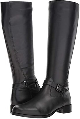 La Canadienne Sunday (Black Leather) Women's Boots