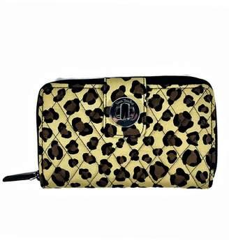 Vera Bradley Leopard Turnlock Wallet