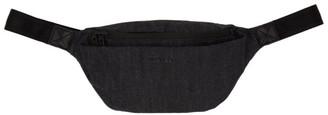 Diesel Black Denim Subtoryal Belt Bag