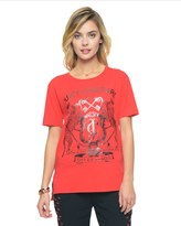 Juicy Couture Leopard Crest Graphic Tee