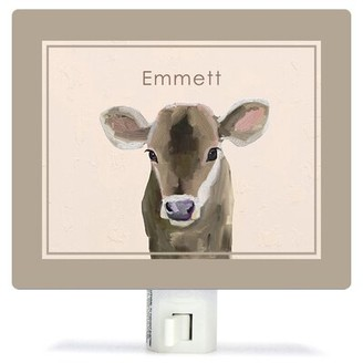 Oopsy Daisy Fine Art For Kids Baby Cow by Cathy Walters Night Light Customize: Yes