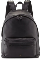 Givenchy Leather Backpack w/Studded Trim, Black