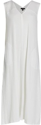 ATM Anthony Thomas Melillo V-Neck Sleeveless Dress