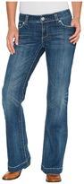 Stetson Grey w/ Chevron Back Pocket Women's Jeans