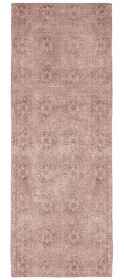 """French Connection Jaylen Jacquard Blush Area Rug Rug Size: Runner 1'8"""" x 5'"""