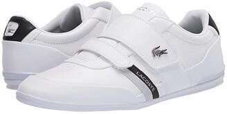Lacoste Misano Strap 120 1 U (Navy/Red) Men's Shoes