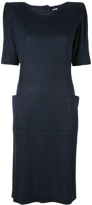 Emanuel Ungaro Pre Owned Padded Shoulder Dress