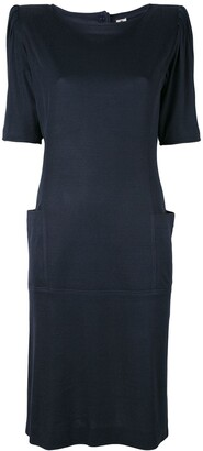 Emanuel Ungaro Pre-Owned Padded Shoulder Dress