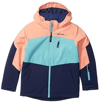 Marmot Kids Elise Jacket (Little Kids/Big Kids) (Arctic Navy/Spritzer) Girl's Coat