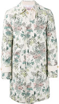Marna Ro - floral printed coat - men - Cotton/Polyester/other fibers - S