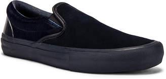 Vans x Engineered Garments Slip-On in Black & Navy & Multi | FWRD
