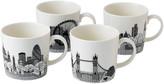 Royal Doulton London Calling Mugs - Set of 4