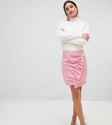NA-KD Na Kd Side Frill Mini Skirt