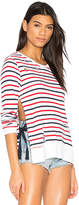 Pam & Gela Stripe Print Fleece