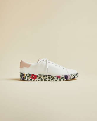 Ted Baker Wilderness Printed Sole Trainers