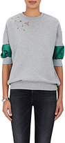 Kolor Women's Embroidered Cotton Sweatshirt