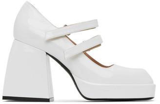 Nodaleto White Bulla Babies Heels