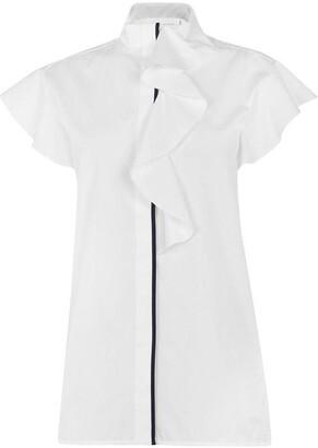 Victoria Victoria Beckham Flute sleeve shirt