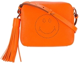 Anya Hindmarch Neon Smiley Crossbody Bag - Orange