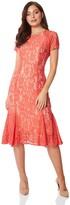 M&Co Roman Originals flute hem lace dress