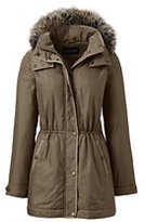 Classic Women's Tall City Anorak Coat-Mulberry Wine