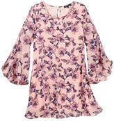 My Michelle mymichelle Floral Print Dress (Big Girls)