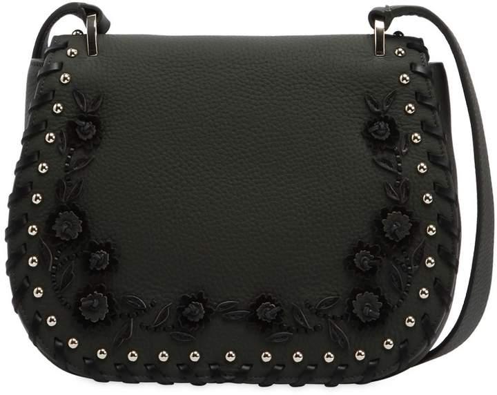 Kate Spade Tressa Floral Appliqués Leather Bag