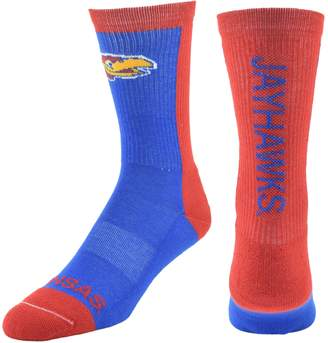Men's Mojo Kansas Jayhawks Loud & Proud Crew Socks