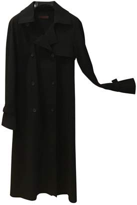 Ramosport Black Trench Coat for Women