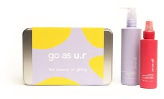 Go As U.R Big Gift Box | Regenerating & Balancing Body Emulsion & Radiant Protective Mist