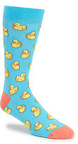K. Bell Rubber Duck Crew Socks