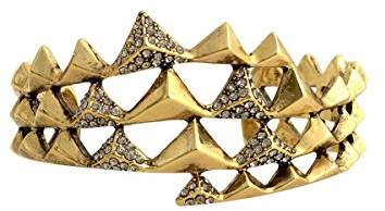 House Of Harlow Pyramid Wrap Cuff - Gold