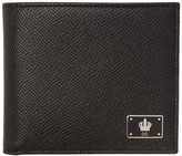 Dolce & Gabbana Black Crown Wallet